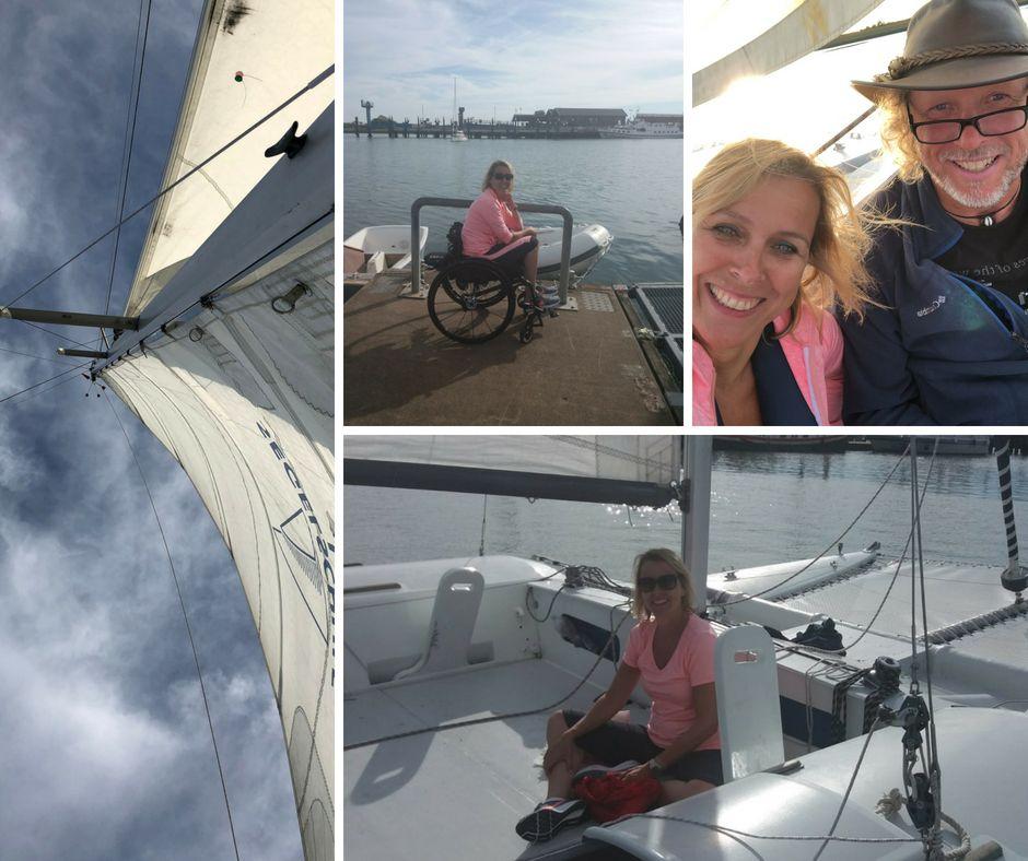Langeoog segeln mit Rollstuhl