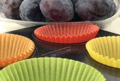 Pflaumen Muffins schnell einfach lecker