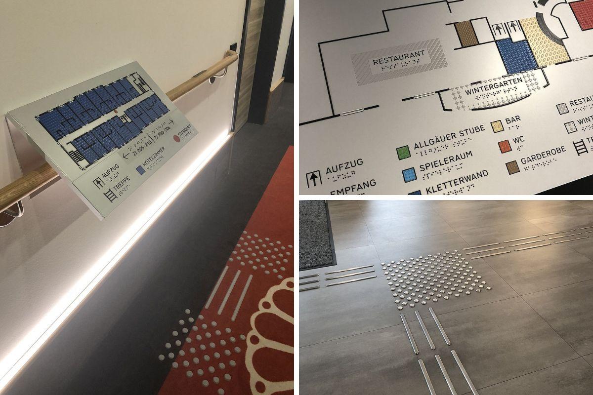 ART Hotel Kempten Leitsystem
