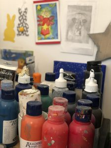 Kunsttherapie Farbe