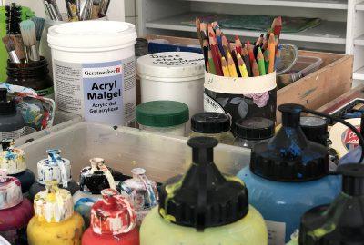 Kunsttherapie Farben