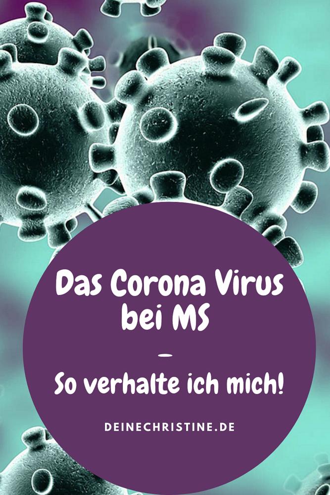 Das Corona Virus so verhalte ich mich